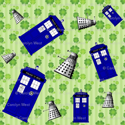 Police Box Attack 4-Leaf Clover Stripe -6/2.67/337