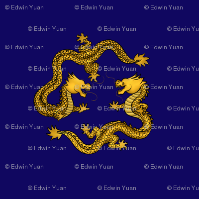 Gold_Metallic_Dragon_on_Blue_Motif