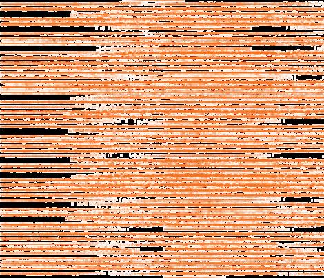 Orange Stripes Distressed fabric by khaus on Spoonflower - custom fabric