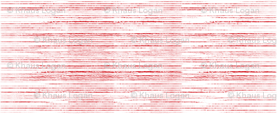 Red Stripes Distressed