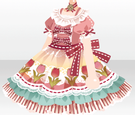 Lolita Border Retro Gamer CUTE