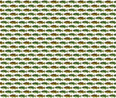 3 black bass fabric by combatfish on Spoonflower - custom fabric