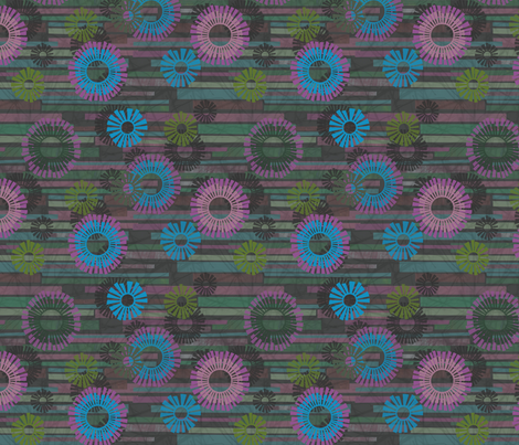 Pinata Fringe fabric by beckarahn on Spoonflower - custom fabric