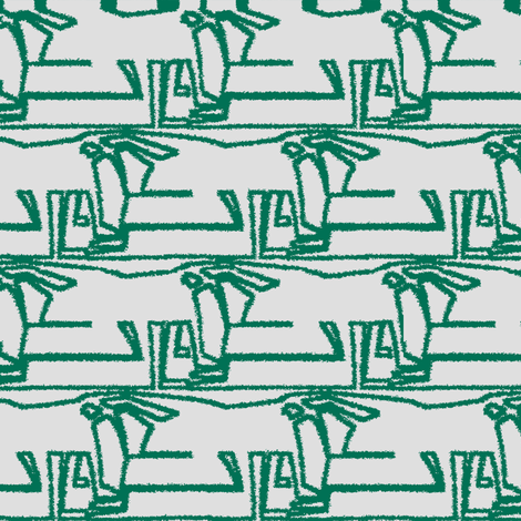 Sojourn (Green) fabric by david_kent_collections on Spoonflower - custom fabric