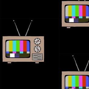 No signal television