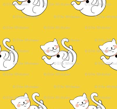 Waving Kitty