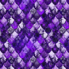 Purple, silver, black dragon scales (for Michael) by Su_G