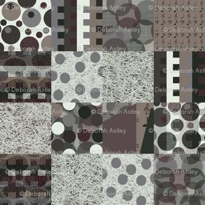 Antiphonal Texture Cheater Quilt
