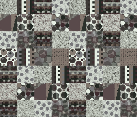 Antiphonal Texture Cheater Quilt fabric by anniedeb on Spoonflower - custom fabric
