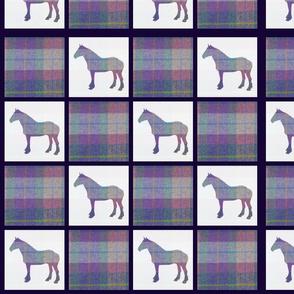 Tartan horses (3)