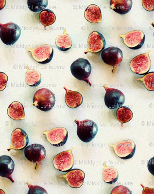 Fresh Figs on Linen - intense version
