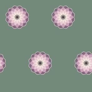 Lavender Medallions