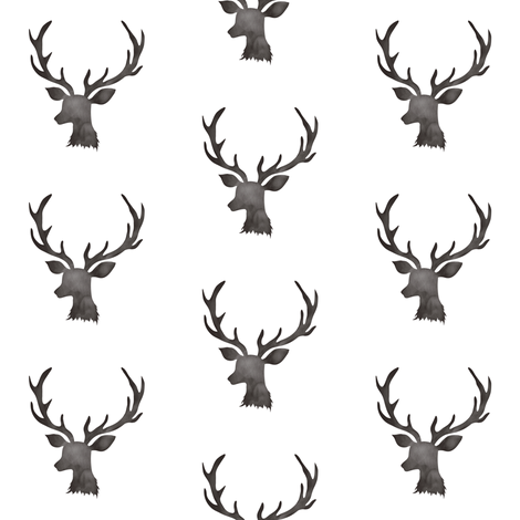 Mini Deer fabric by shopcabin on Spoonflower - custom fabric