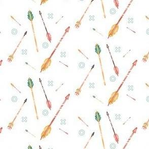 Boho X and O Arrows