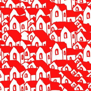 Houses red