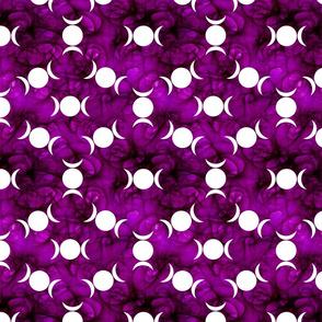 Triple Goddes Symbo dk purple