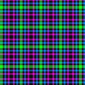 Green/Pink/Blue Plaid