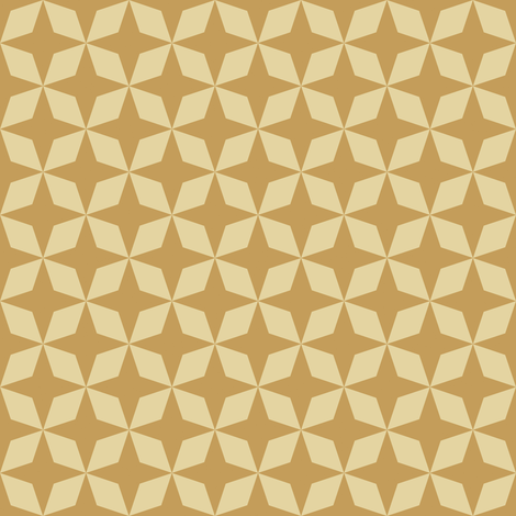 Gold Stars fabric by anniecdesigns on Spoonflower - custom fabric