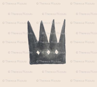 Pale Rose Quartz Crowns