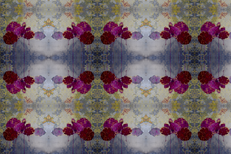 Queen Bee - 2 fabric by eva_evolved on Spoonflower - custom fabric