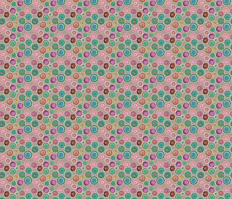 adot_mauve fabric by bbusbyarts on Spoonflower - custom fabric