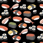 Sushi Roll Funny Food