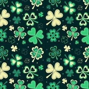 St Patricks Day Clovers
