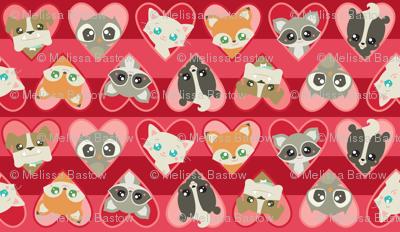 Valentine Animal Faces