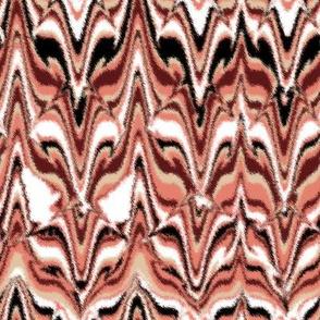 Marbleized Fox Camouflaged