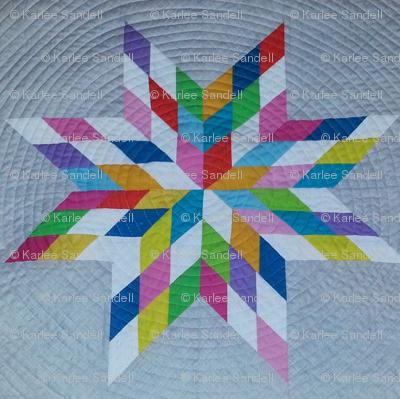 Karlee's medallion quilt