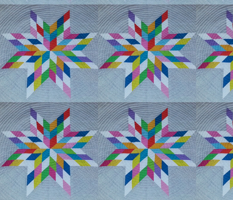 Karlee's medallion quilt fabric by sewinspired2day on Spoonflower - custom fabric