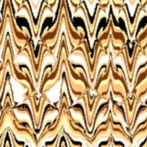 Marbleized Fox Camouflaged Golden