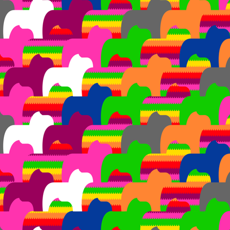 pinata rainbow fabric by cherryflowersgd on Spoonflower - custom fabric