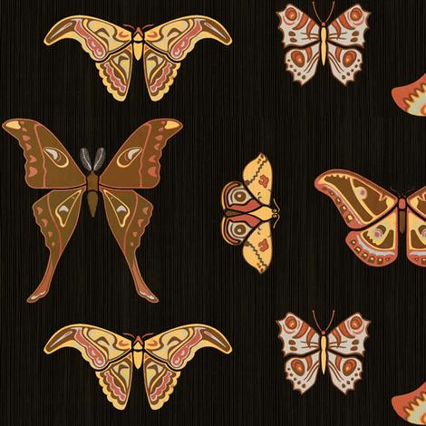 Lepidoptera 1a fabric by muhlenkott on Spoonflower - custom fabric
