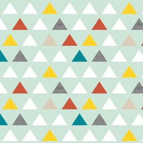 Custom Mint Triangles