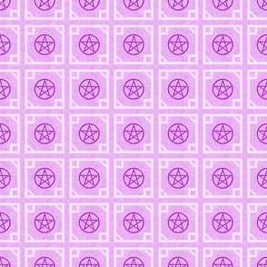 Pentagram Purple