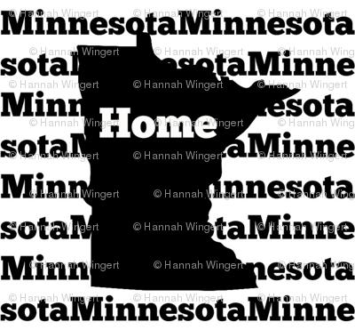 Home in Minnesota-Black