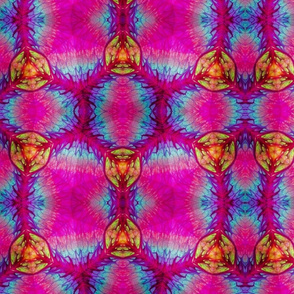 Circle Watermelon Kaleidoscope