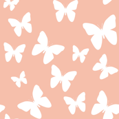 Pink and White Butterfly Blush