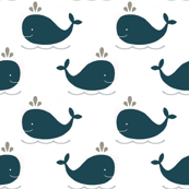 Whales Small Navy