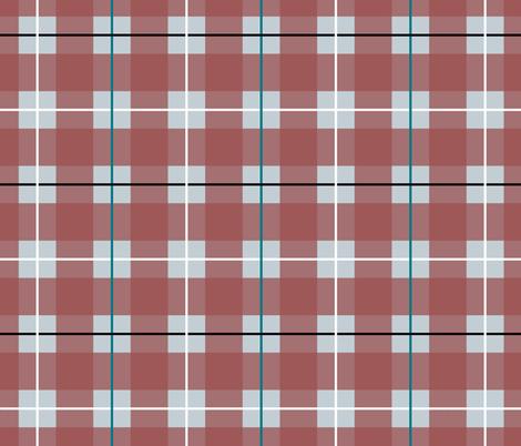 Arctic Plaid fabric by artbytiffany on Spoonflower - custom fabric