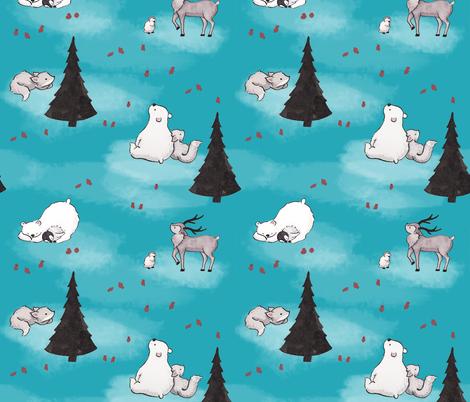 Arctic Play fabric by artbytiffany on Spoonflower - custom fabric