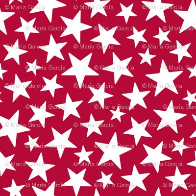 Americana Stars Red