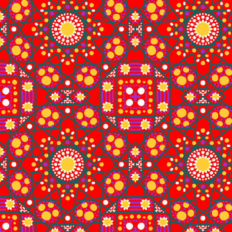 Penny fabric by tallulahdahling on Spoonflower - custom fabric