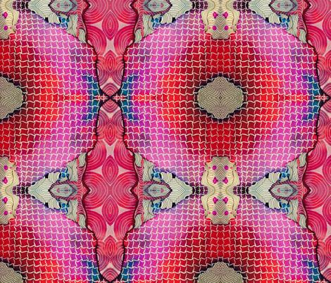 Calypso fabric by designsbystarla on Spoonflower - custom fabric