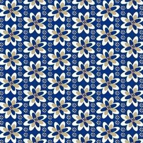 Colonial Raggedies Flowers Fabric #4