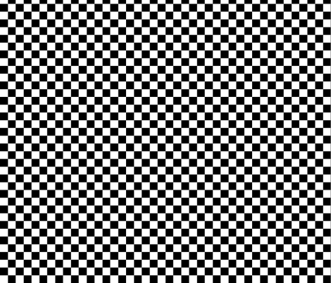 patchedmonochrometiny fabric by blancamonroe on Spoonflower - custom fabric