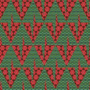 Toothy Christmas Tree Diamonds
