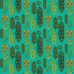 tigertail- guilded turquoise