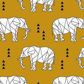 Geometric Elephant // myan
